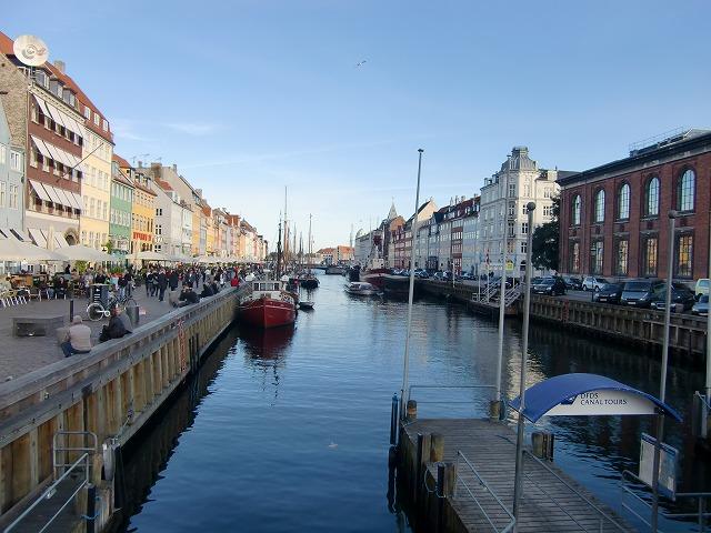 写真:ニューハウン(コペンハーゲン)