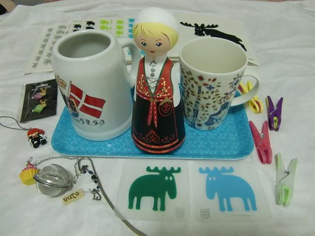 写真:北欧で買ったお土産