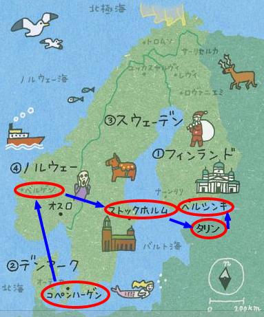 北欧ルート