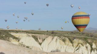 トルコ(5)カッパドキアで熱気球&グリーンツアー