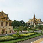 ベトナム・カンボジア(3)ホーチミン~プノンペン(バス)&カンボジア王宮