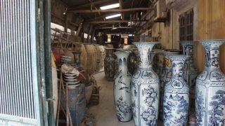 ハノイ(7)路線バスに乗って陶器で有名な「バッチャン村」へ