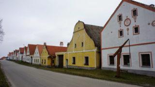 中欧(8)ホラショヴィツェの歴史地区&チェスキークロムロフ観光