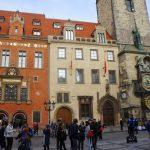 中欧(11)プラハ観光(ハヴェル市場・旧市街広場・ユダヤ人街)