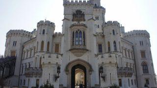 中欧(9)チェスキークロムロフ→フルボカー城→プラハ