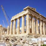 ギリシャ(5)アテネ市内観光(アクロポリス・プラカ地区・衛兵交代式)
