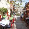 ギリシャ(6)アテネ市内観光(ゼウス神殿・プラカ地区散策・古代アゴラ)
