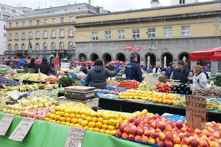 ザグレブ青果市場