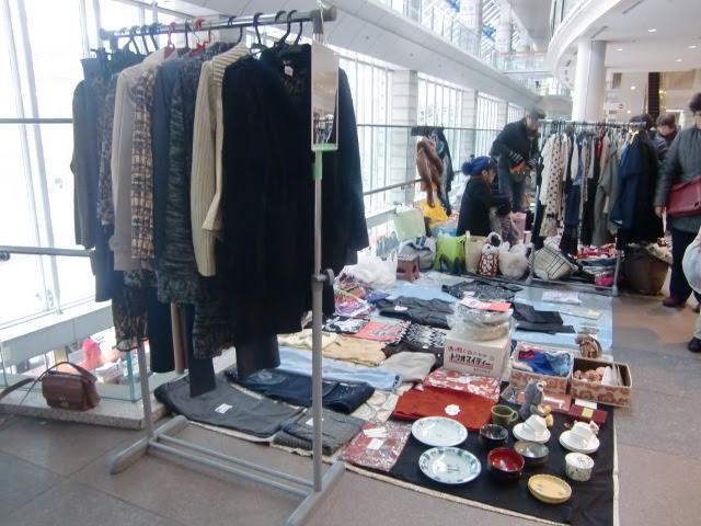 写真:品川のフリーマーケット