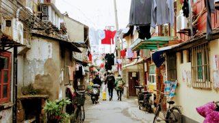 上海(10)下町の路地裏散策&ネコ歩き