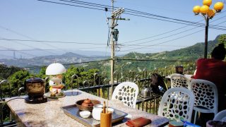 台北(15)猫空の茶芸館&ロープウェイ