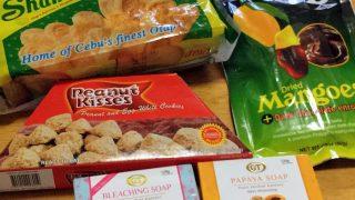 フィリピン・セブ島のスーパーで買ったお土産・お菓子など