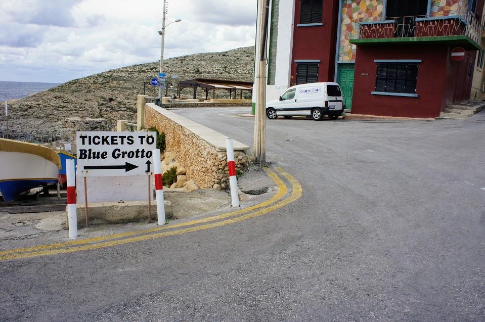 マルタ青の洞門ボートチケット