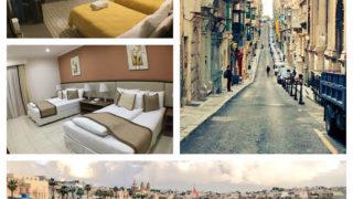 マルタ島で泊まったホテル(バレッタ&マルサシュロック)
