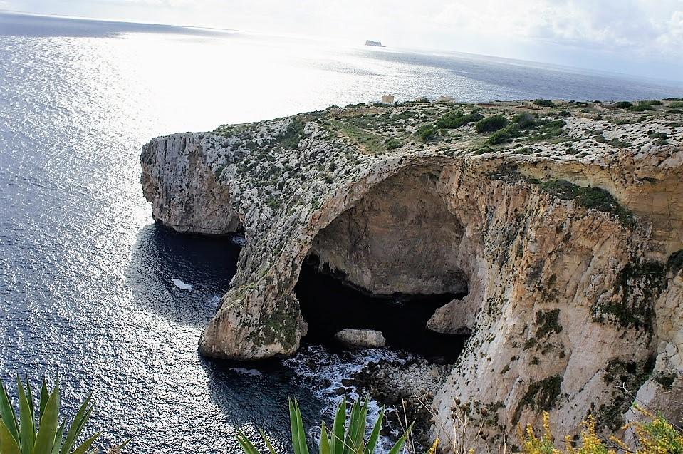 マルタ青の洞門・ブルーグロット