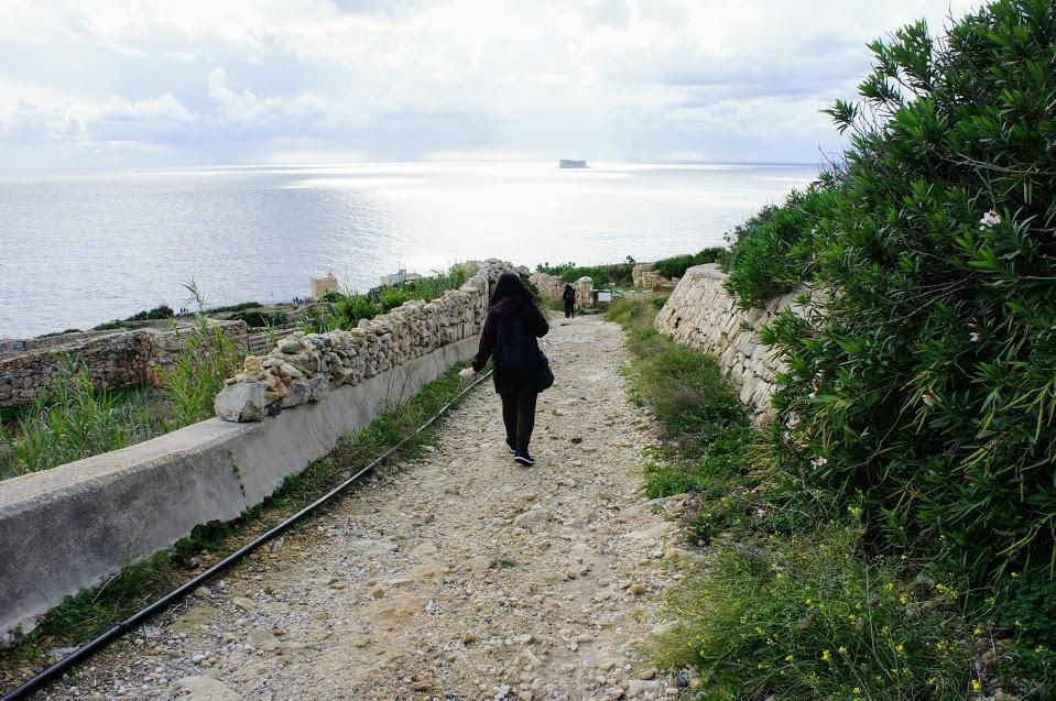 マルタ青の洞門ボート乗り場