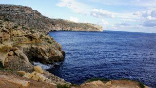 マルタ島(3) 青の洞門(ブルーグロット)観光
