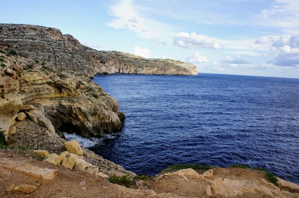 マルタ青の洞門写真