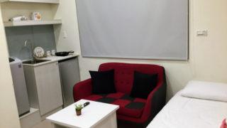 台北で宿泊したアパートメント(airbnb)