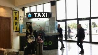 マルタ島(2)マルタ空港からタクシーで市内へ