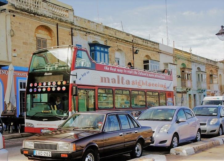 malta-sightseeingバス