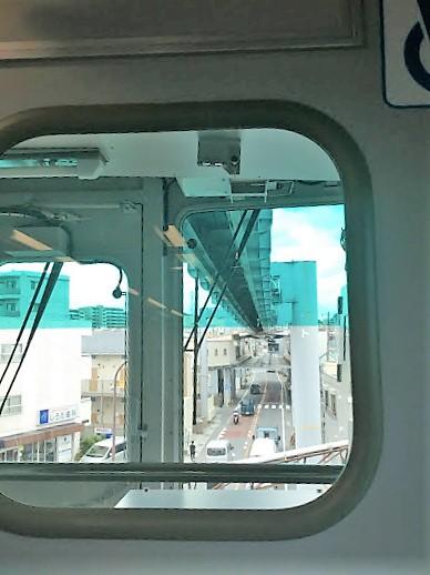 湘南モノレール車内から撮影