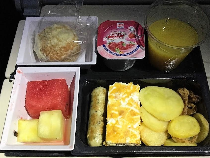エティハド航空 機内食