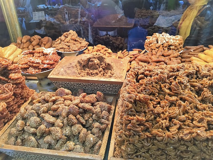 モロッコの伝統菓子