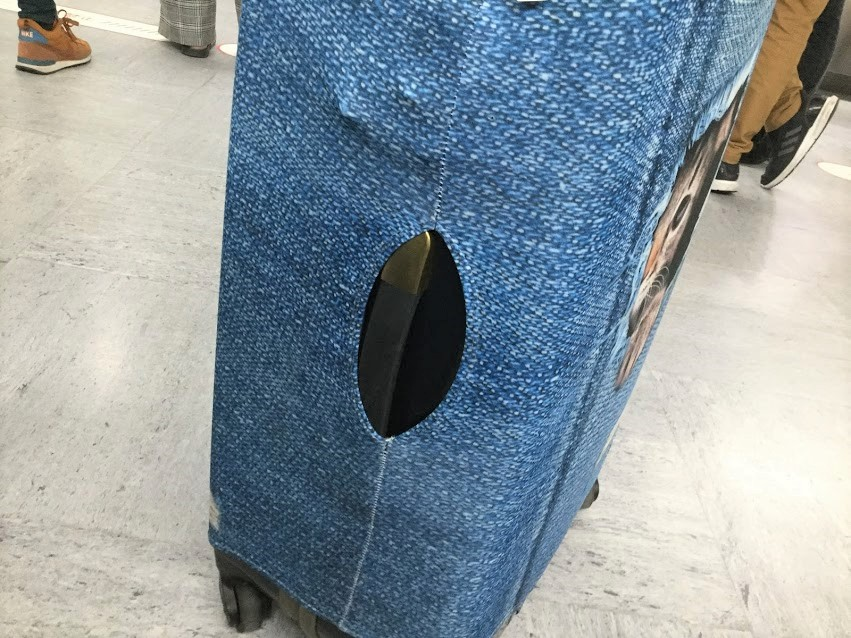 スーツケースカバー